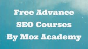 best free online seo courses