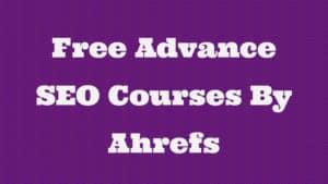 free SEO courses online