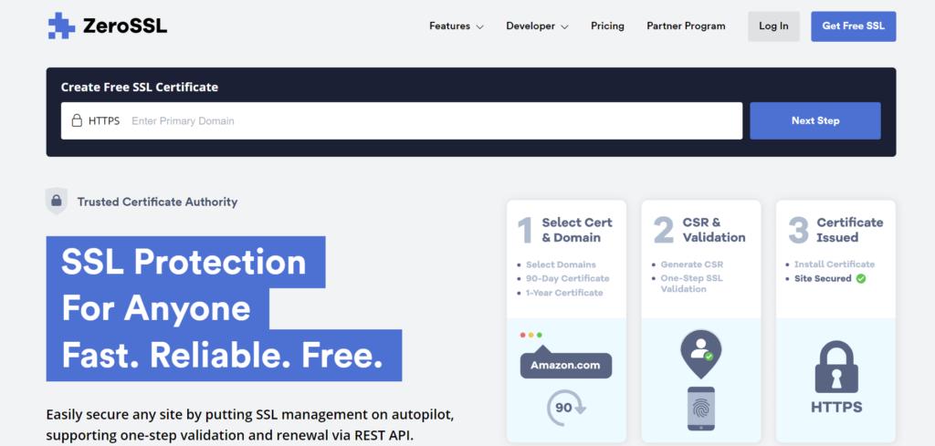 zero_free_ssl_certificate